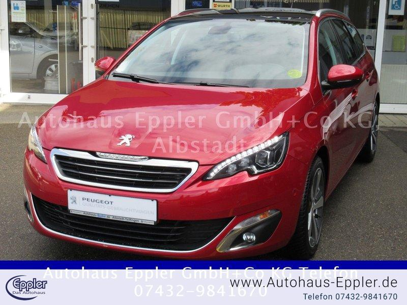 peugeot 308 sw pt130 eat6 s s allure navi keyless kamera. Black Bedroom Furniture Sets. Home Design Ideas